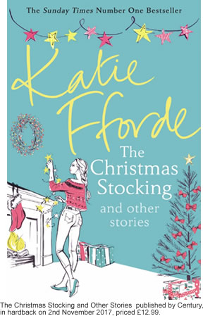 The Christmas Stocking and Other Stories is to be > published by Century, in hardback on 2nd November 2017, priced £12.99.