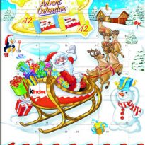 Kinder is Launching A New Christmas Advent Calendar