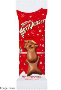 Mars Christmas 2017: Maltesers Merryteaser Reindeer
