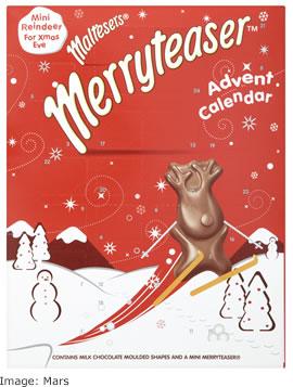 Mars Christmas 2017 Maltesers Merryteser advent calendar