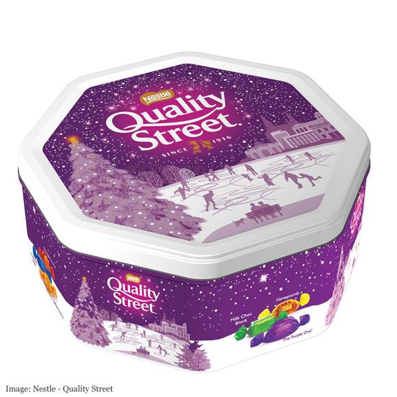 Nestle Large Quality Street tin