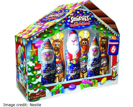 Nestle Christmas 2017 Smarties Santa Workshop