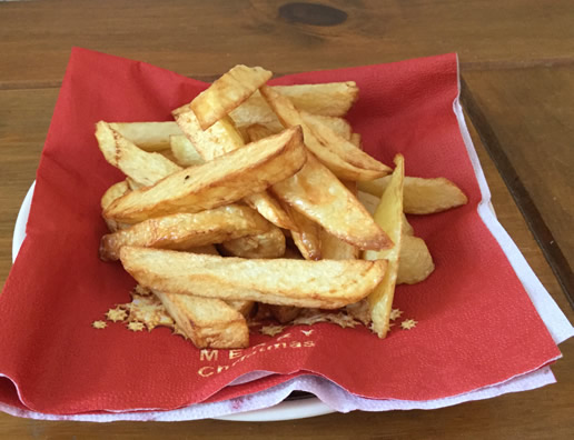 Philips Airfryer - cooked chips