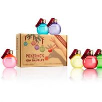 Pickering's Gin Baubles Christmas 2017