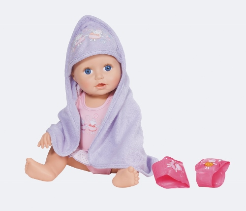 Christmas Review 2017 Baby Annabell Learns To Swim Doll