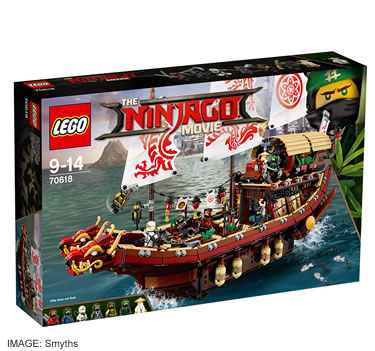 LEGO Ninjago Movie Destiny's Bounty