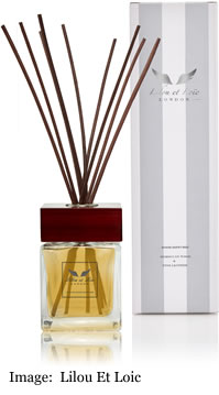 Lilou Et Loic Moroccan Wood & Fine Leather Room Diffuser