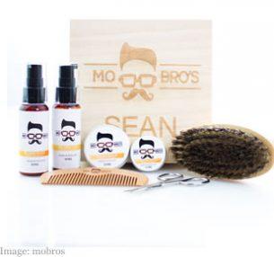 Mo Bro's Personalised Signature Beard Grooming Gift Box