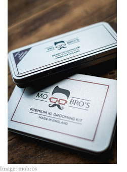 Mo Bro's Premium XL Grooming Kit and Beard Grooming Kit