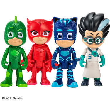 PJ Masks Deluxe Talking Figure 4-Pack