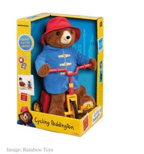 Paddington Bear Cycling Plush
