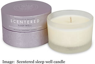 Scentered sleep well therapeutic The Patchouli, Cedarwood and Clove ca