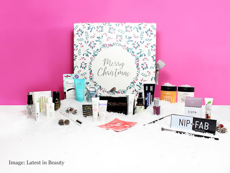 Christmas review 2017 you beauty box advent calendar is for Under the christmas tree 2017