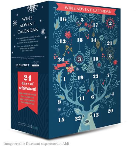 Aldi UK Wine Advent Calendar