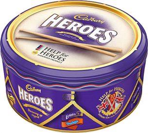 Cadbury Heroes Tin