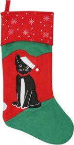Cat Christmas Stocking