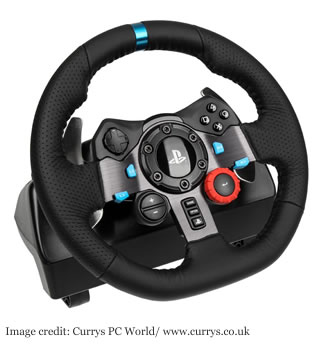 Logitech G29/G920 racing steering wheel