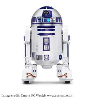 R2-D2 App-Enabled Sphero Droid