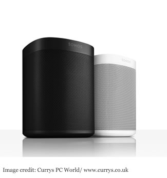 Currys SONOS One Wireless Smart Sound Speaker - White