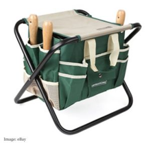 Foldable Garden Tool Kit & Chair £13.59 from dhan_raja