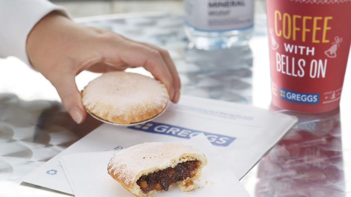Gregg's Mince Pies