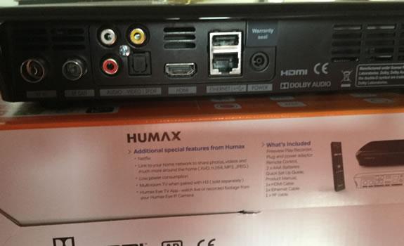 Humax Back Box