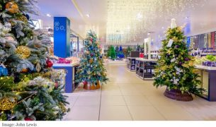 John Lewis Department Store Christmas Market 2017