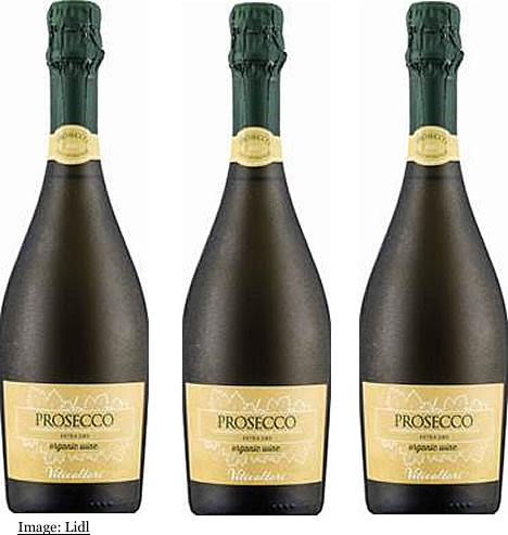 Lidl UK Organic Prosecco Spumante