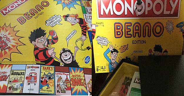 Monopoly Beano Edition