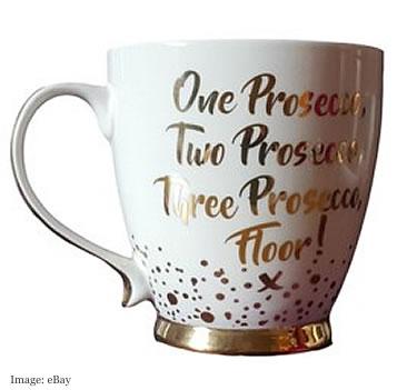 Prosecco Mug £8.99 from giftgiftgift