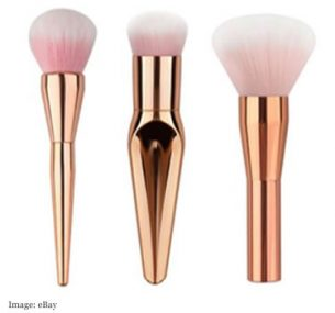 Rose Gold Make Up Brushes £5.49 from xieyongxin2010
