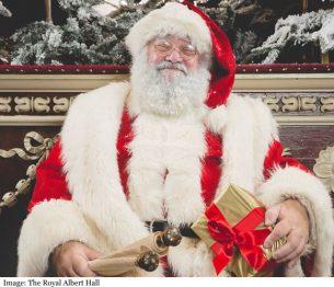 The Royal Albert Hall Santa