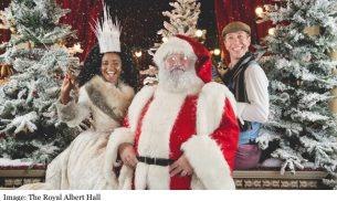 The Royal Albert Hall Santa and Snow Queen 2017