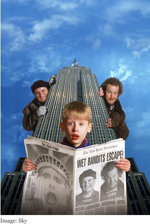 SKY Home Alone 2 - Lost In New York