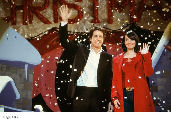 Sky Christmas - Love Actually film