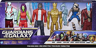 "Guardians of the Galaxy – 12"" Titan 6 Pack"