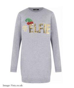 Christmas jumper 2017: Very Elfie Tunic