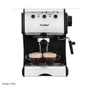VonShef Coffee Machine £62.99 from domu-uk