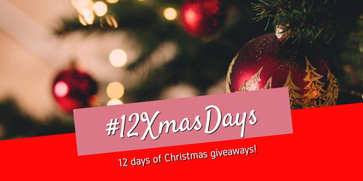 12 Days of Christmas giveaways - #12XmasDays