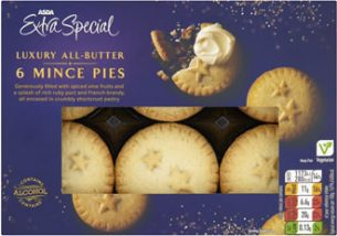 Asda Extra Special Luxury All-Butter Mince Pies