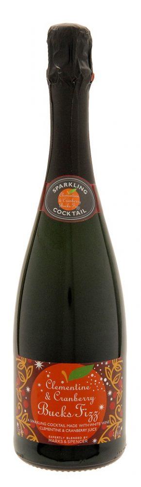 Clementine & Cranberry Bucks Fizz £6 750ml