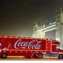 Coca-Cola Christmas truck london