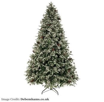 Debenhams snow and acorn tree £250