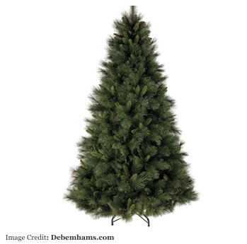 Festive - Green dewdrop needle pine Christmas tree