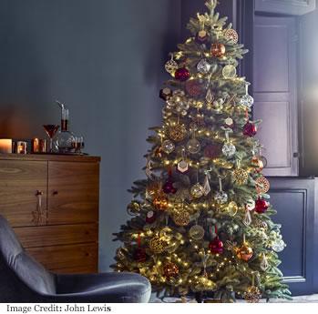 John Lewis Mitsuko Serbian Blue Spruce Christmas Tree, 7ft