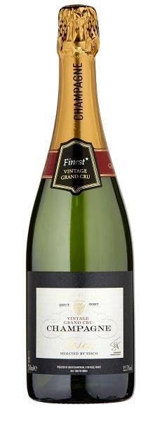 Tesco Finest Champagne Vintage Grand Cru Blanc De Blancs
