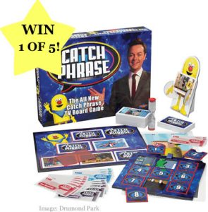 Day 1 #12XmasDay - WIN one of five Drumond Park Catchphrase games