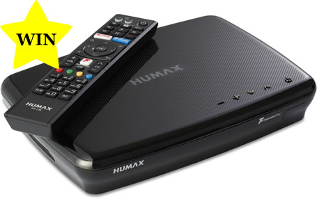 Humax FVP-5000T Freeview Play Recorder