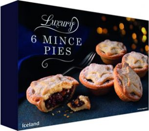 Iceland Luxury Mince Pies 2017