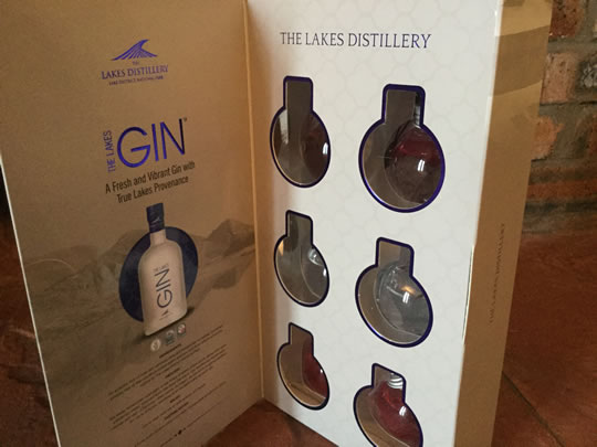 Lakes Distillery Gin Filled Baubles